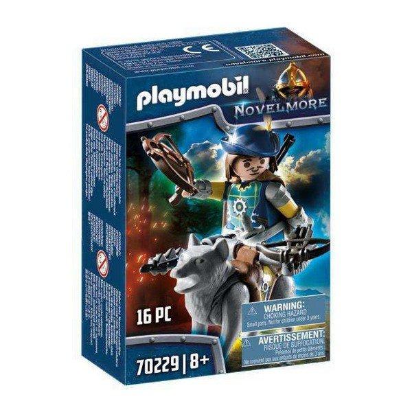 Playmobil Novelmore - Armbrøst Mand Med Ulv - 70229
