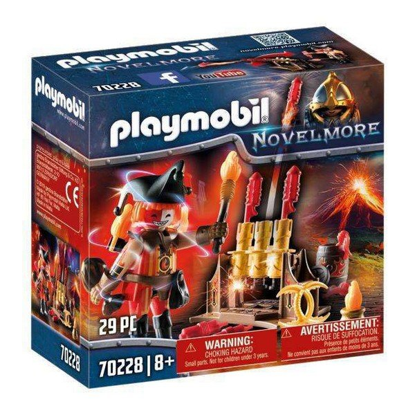 Playmobil Novelmore - Burnham Raiders Ildmester - 70228