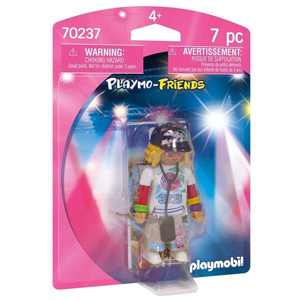 Playmobil - Playmo-friends - Rapper Figur - 7 Dele