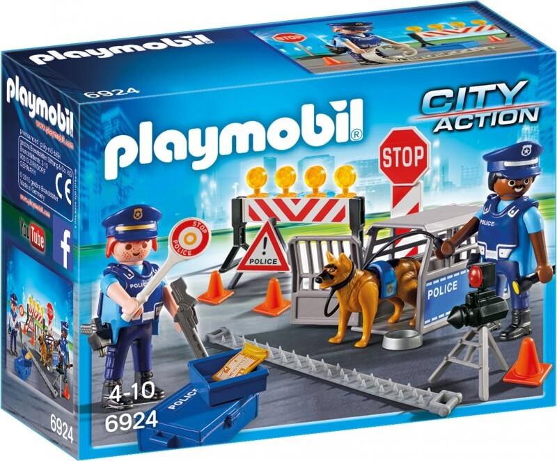 Playmobil City Action 6924 - Politiafspæring