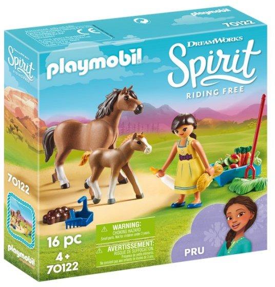 Playmobil Spirit - Pru Med Hest Og Føl - 70122