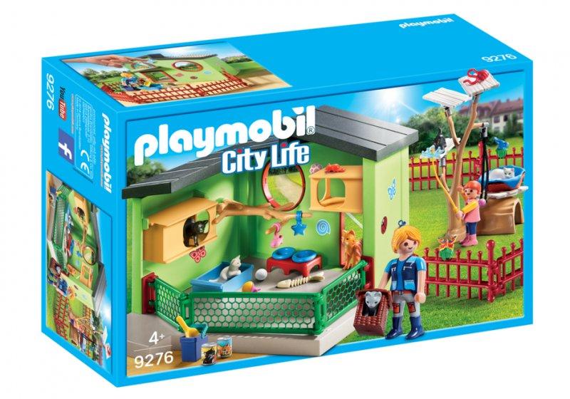 Fabriksnye Playmobil City Life - Kattepension - 9276 → Køb billigt her AO-85