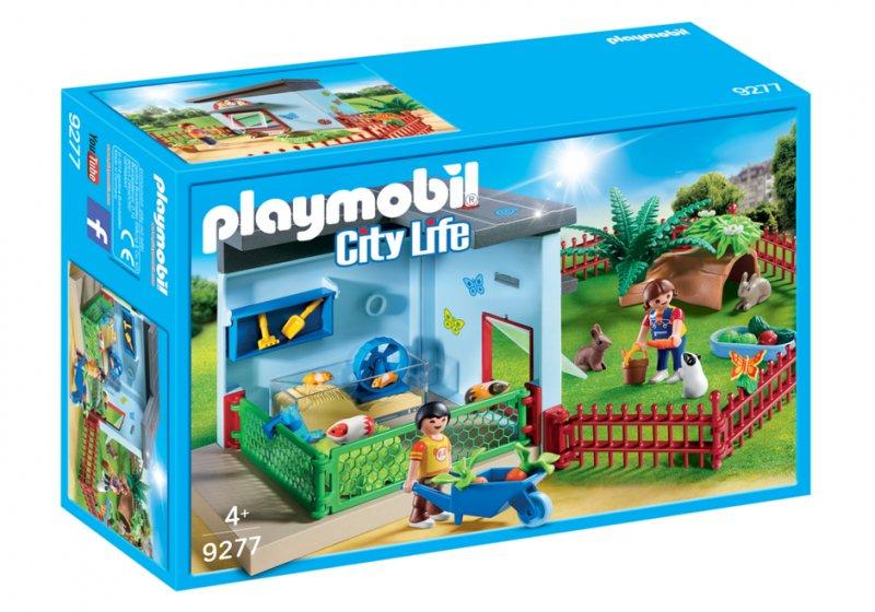 Tidssvarende Playmobil City Life - Dyrepension - 9277 → Køb billigt her AZ-35
