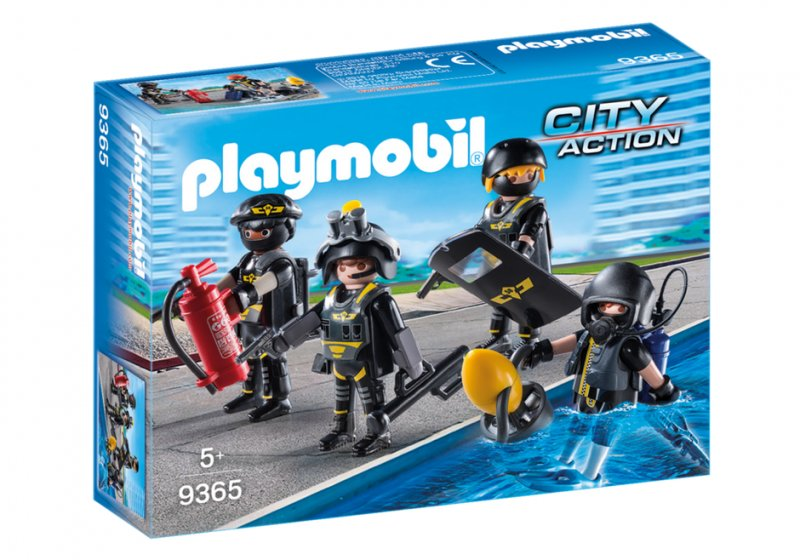 Playmobil City Action - Swat-indsatshold - 9365