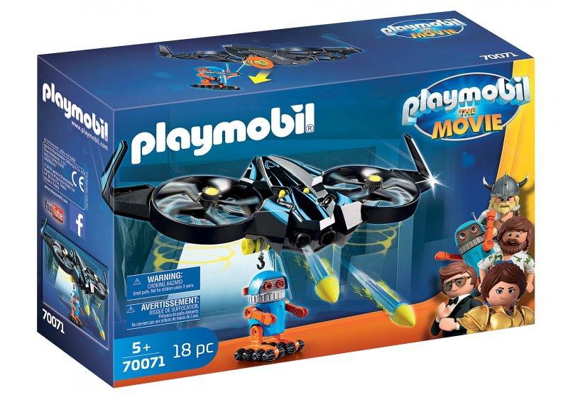 Playmobil - The Movie - Robotitron Med Drone - 70071