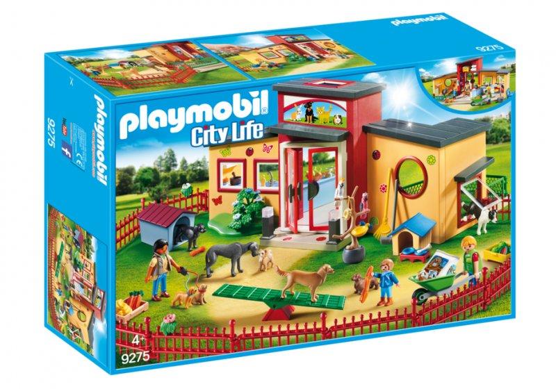 Playmobil Citylife 9275 - Dyrehotel