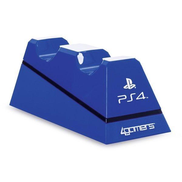 Image of   Playstation 4 - Oplader Til Ps4 Dualshock 4 Controller - Play And Charge - Blå