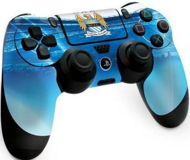 Playstation 4 Controller Skin - Manchester City Fc
