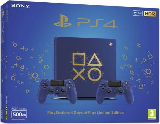 Playstation 4 Days Of Play Limited Edition 500gb - Ps4 Konsol