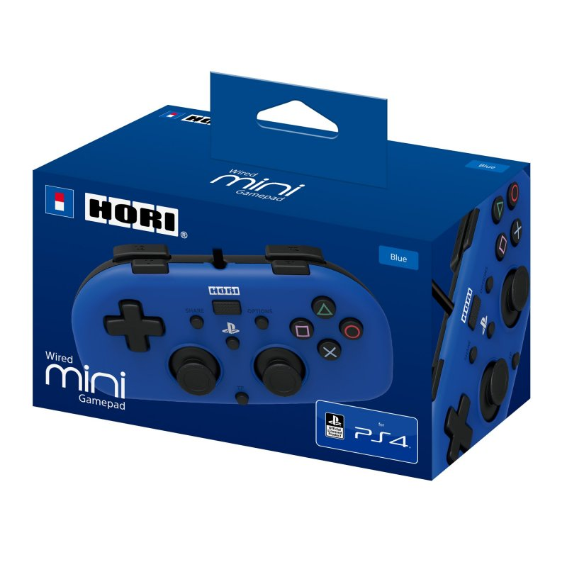 Image of   Hori Pad Mini Controller Til Ps4 - Blå