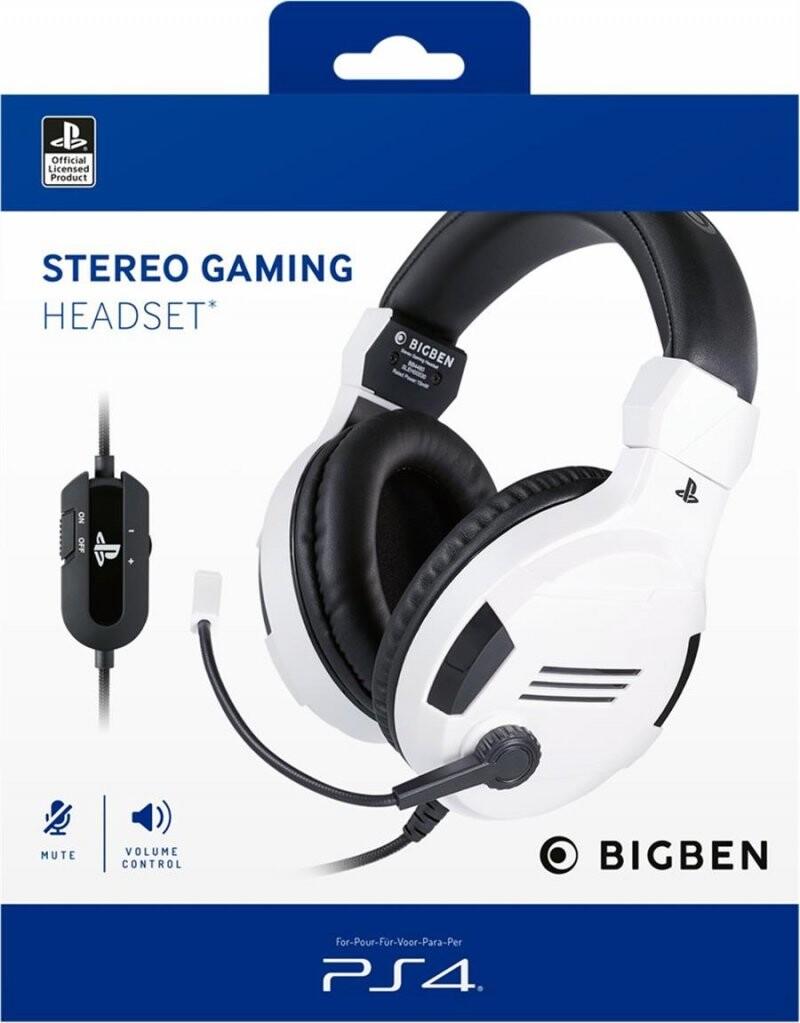 Billede af Bigben - Ps4 Stereo Gaming Headset - Hvid