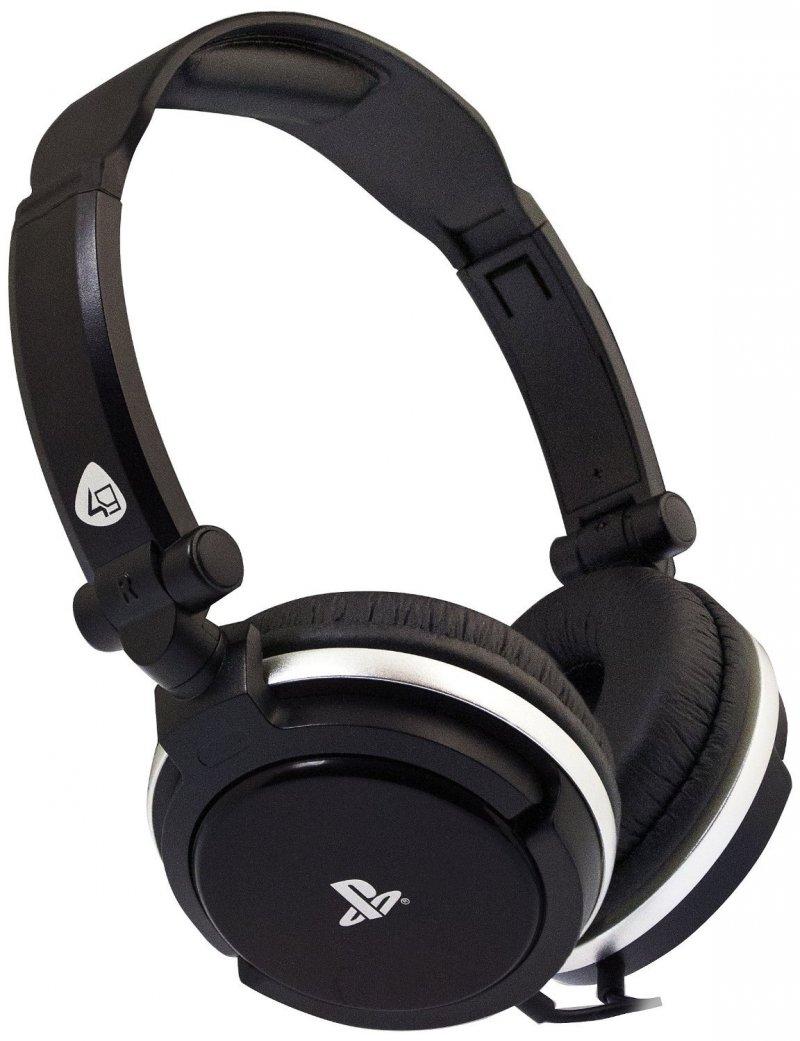 Image of   Playstation 4 Headset Med Kabel - Sort