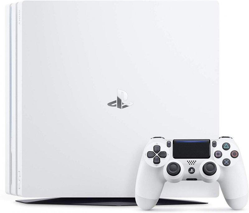 Image of   Playstation 4 Pro Konsol - 1tb - Ps4 - Hvid