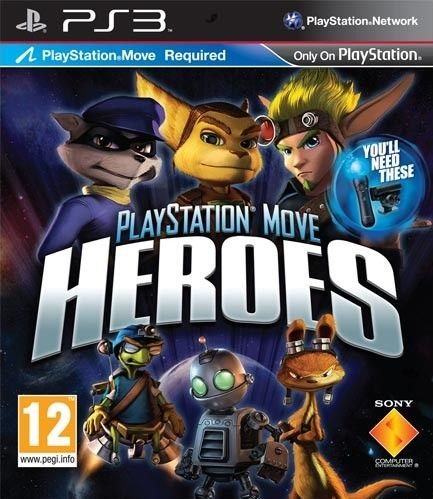 Image of   Playstation Move Heroes - PS3