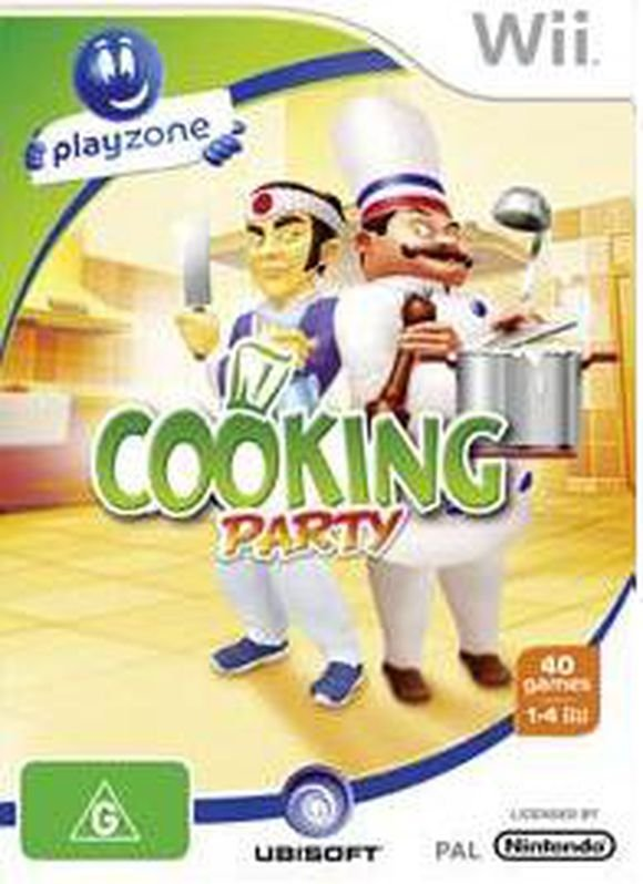 Image of   Playzone Cooking Party - Wii