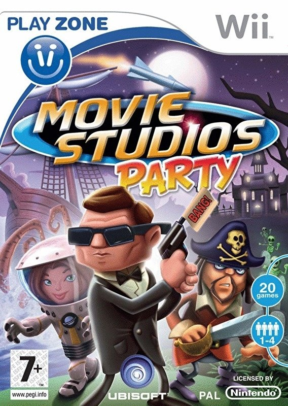 Image of   Playzone Movie Studios Party - Dk - Wii