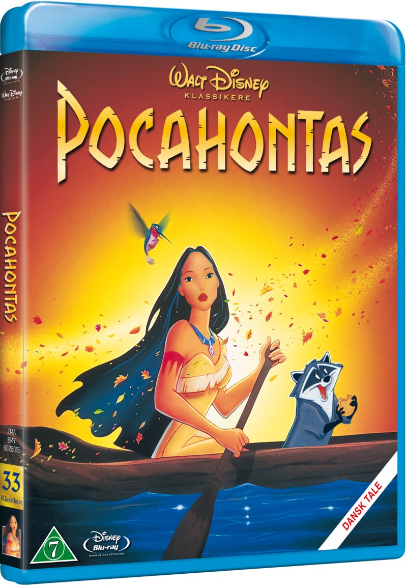 Image of   Pocahontas - Special Edition - Disney - Blu-Ray