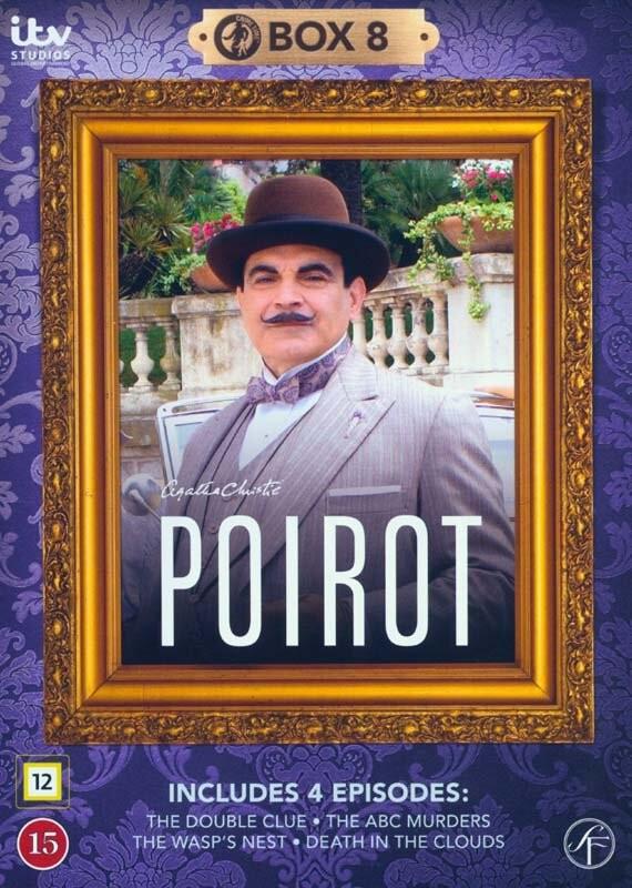 Poirot - Boks 8 - DVD - Tv-serie