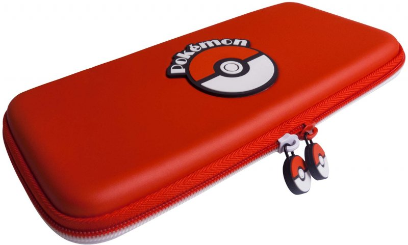 Image of   Nintendo Switch Pokeball Case Etui I Rød