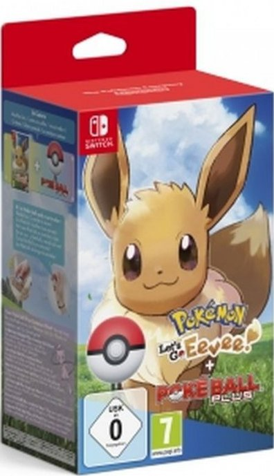 Pokemon: Lets Go, Eevee! + Poke Ball Plus - Nintendo Switch