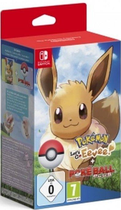 Image of   Pokemon: Lets Go, Eevee! + Poke Ball Plus - Nintendo Switch