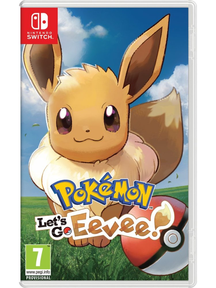 Image of   Pokemon: Lets Go, Eevee! (uk, Se, Dk, Fi) - Nintendo Switch