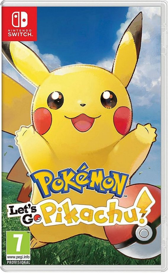 Image of   Pokemon: Lets Go, Pikachu! (uk, Se, Dk, Fi) - Nintendo Switch