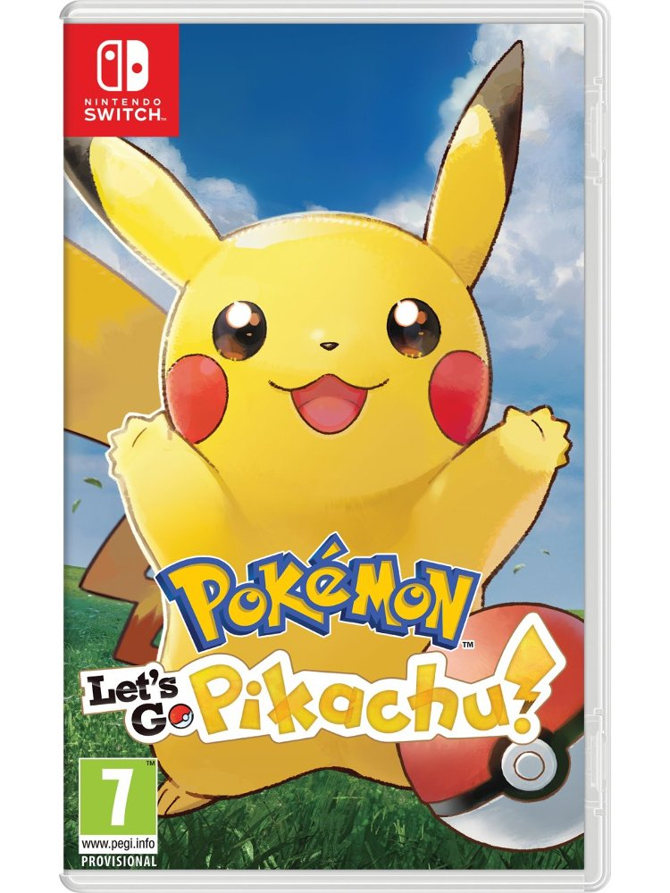 Pokemon: Lets Go, Pikachu! - Nintendo Switch