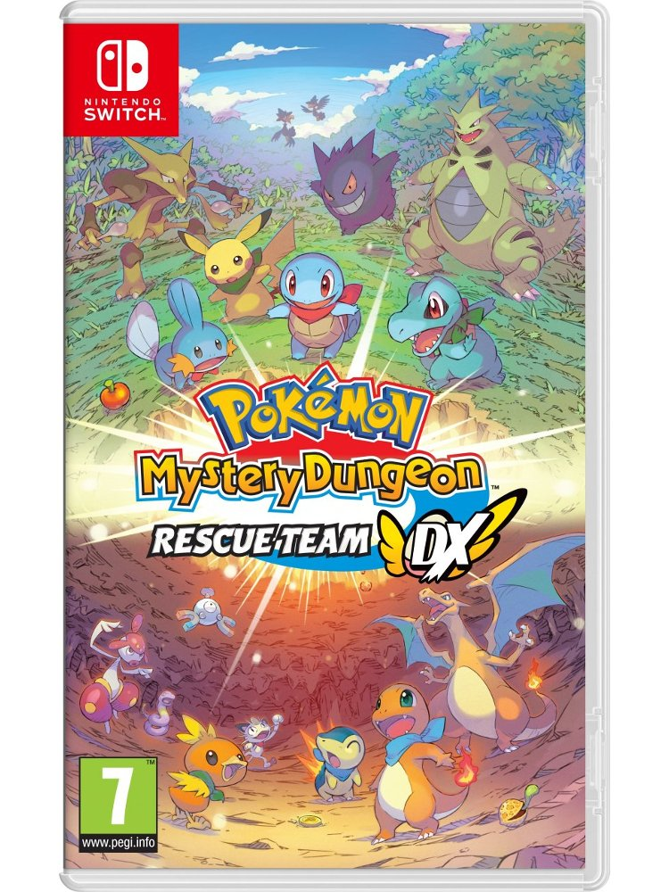 Image of   Pokemon Mystery Dungeon: Rescue Team Dx - Nintendo Switch