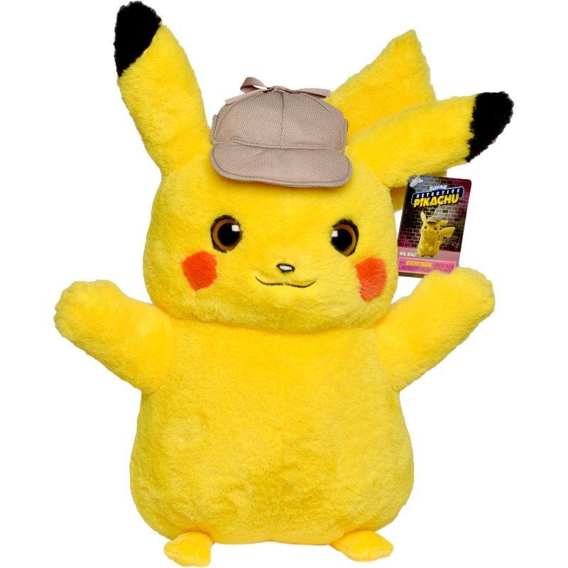 Pokémon - Detektiv Pikachu Plys Bamse - 40 Cm