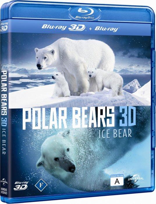 Image of   Polar Bears - 3D Blu-Ray