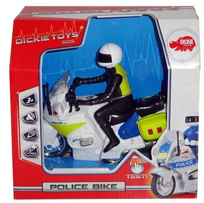 Image of   Politimotorcykel Legetøj - Politibetjent