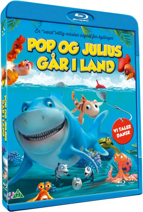 Image of   Seefood / Pop Og Julius Går I Land - Blu-Ray
