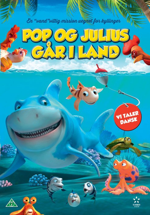 Image of   Seefood / Pop Og Julius Går I Land - DVD - Film