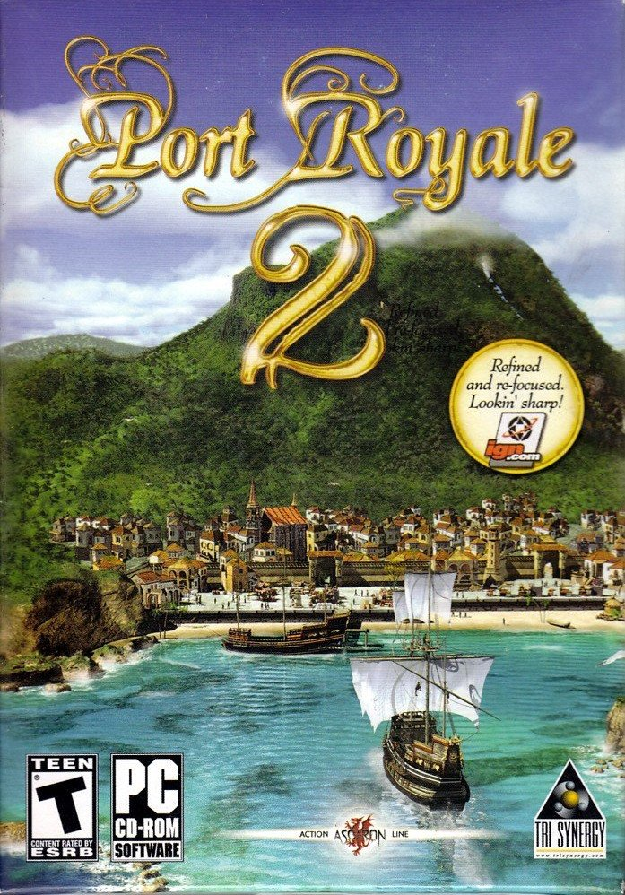 Image of   Port Royale 2 - Dk - PC