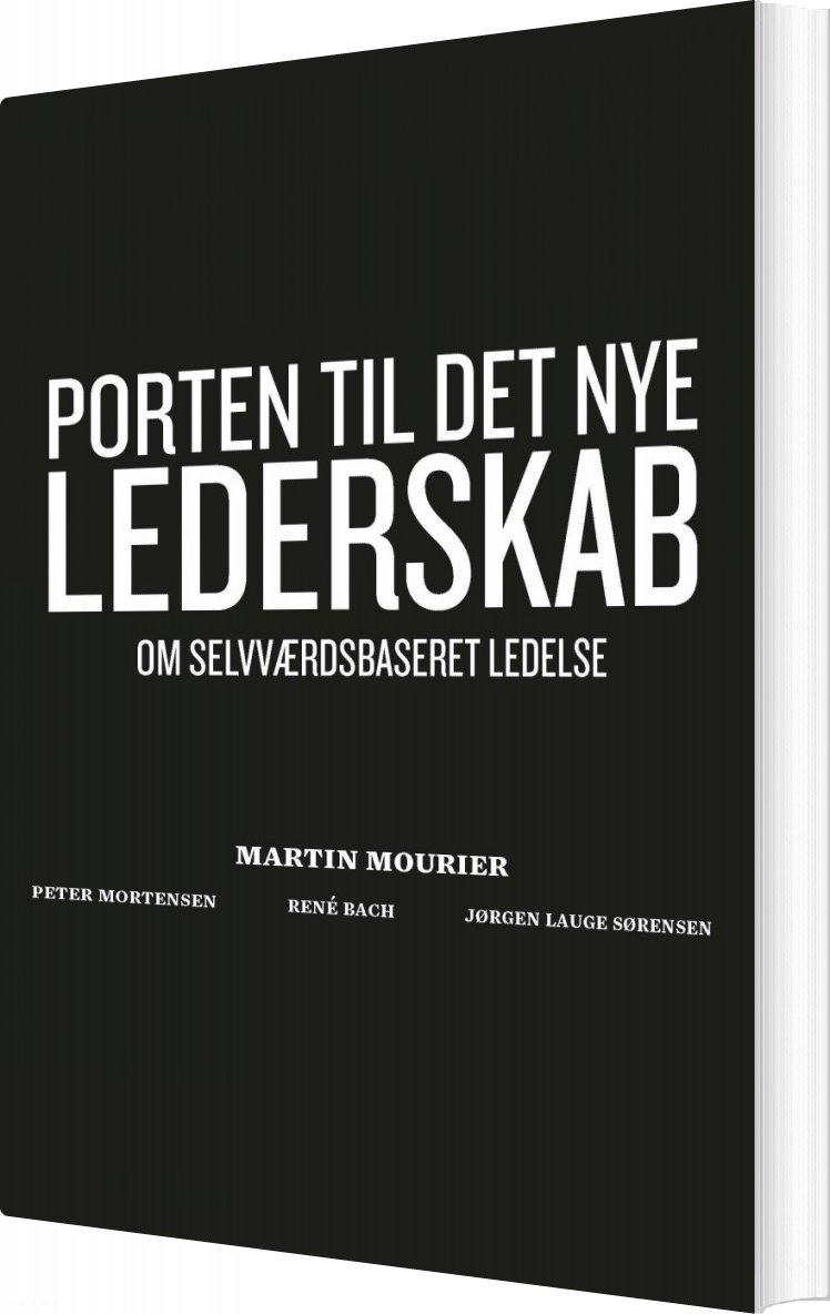 Image of   Porten Til Det Nye Lederskab - Martin Mourier - Bog