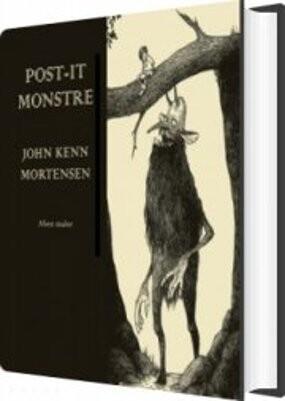 Post-it Monsters - John Kenn Mortensen - Bog