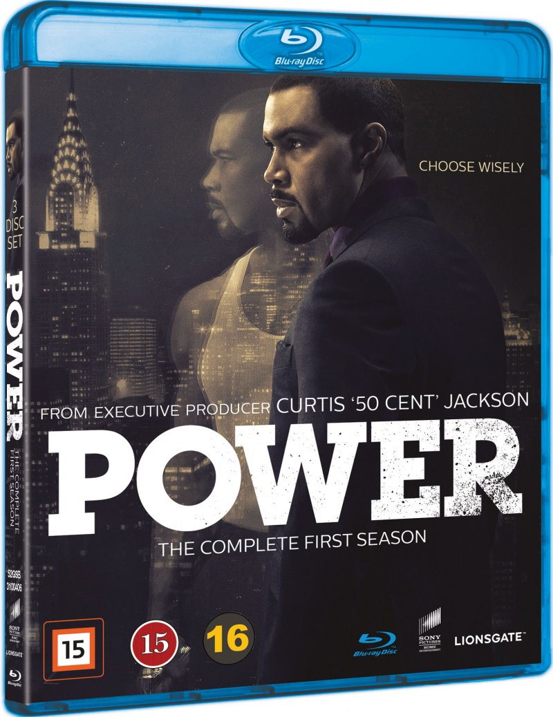 Power - Sæson 1 - Blu-Ray - Tv-serie