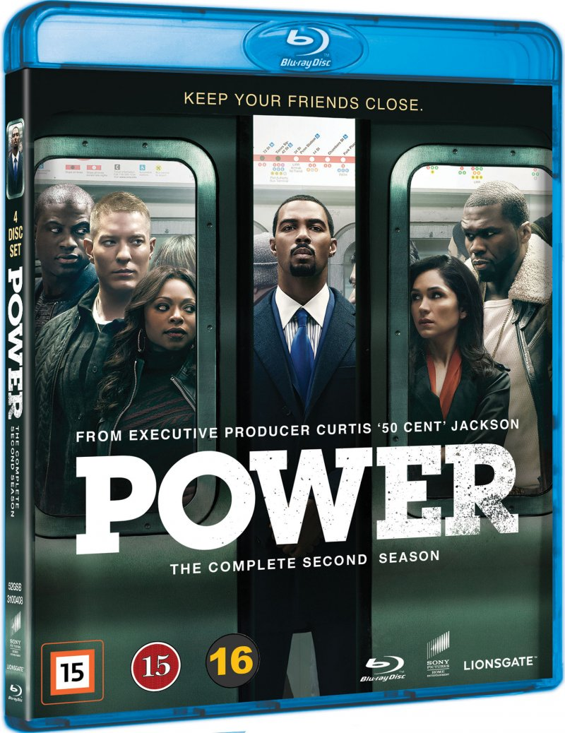 Power - Sæson 2 - Blu-Ray - Tv-serie