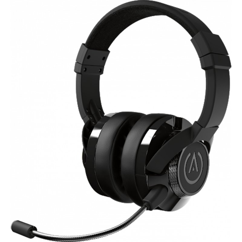 Image of   Powera Fusion - Gaming Headset Med Mikrofon Til Xbox One Ps4 Pc Mac - Sort