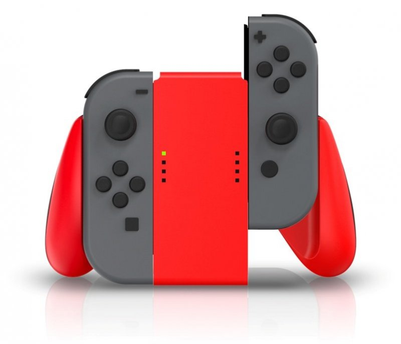 Image of   Powera Joy-con Comfort Grip - Rød