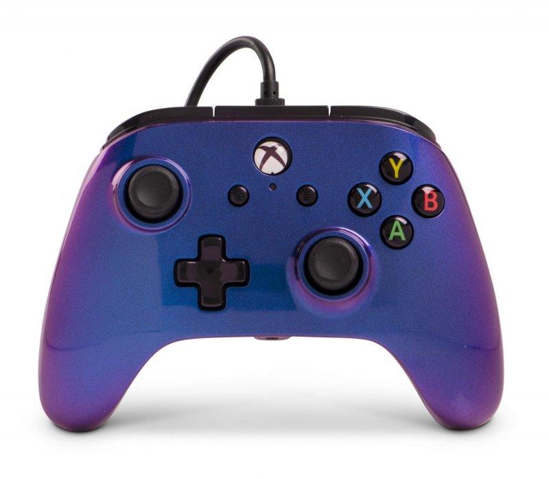 Image of   Powera - Enhanced - Gamepad Controller Til Xbox One - Cosmos Nebula