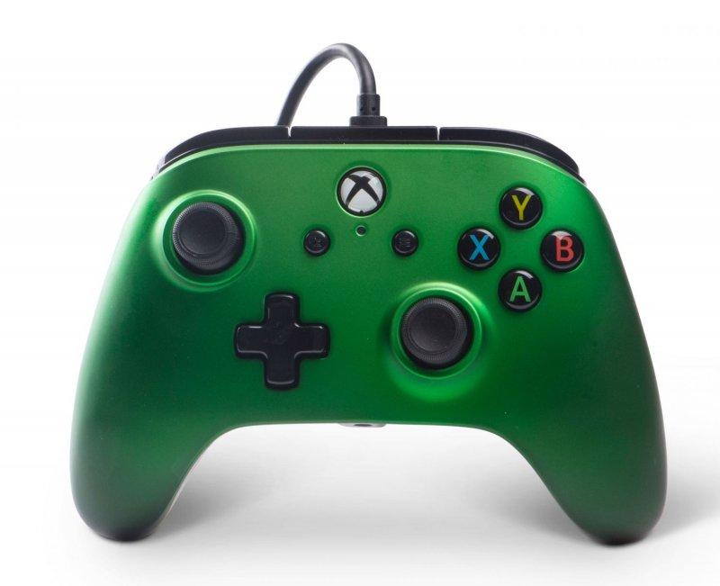 Image of   Powera - Enhanced - Gamepad Controller Til Xbox One - Emerald Fade
