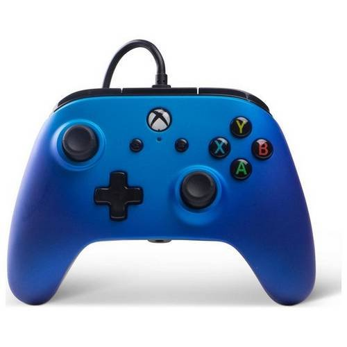 Image of   Powera - Enhanced - Gamepad Controller Til Xbox One - Sapphire Fade