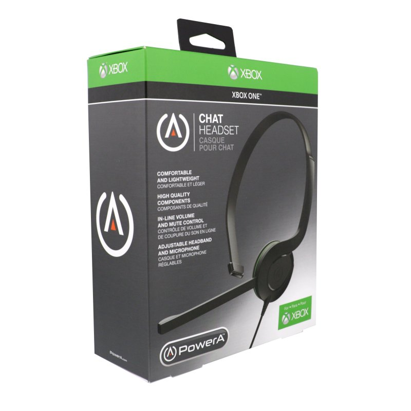 Image of   Powera - Chat Headset Til Xbox One - Sort