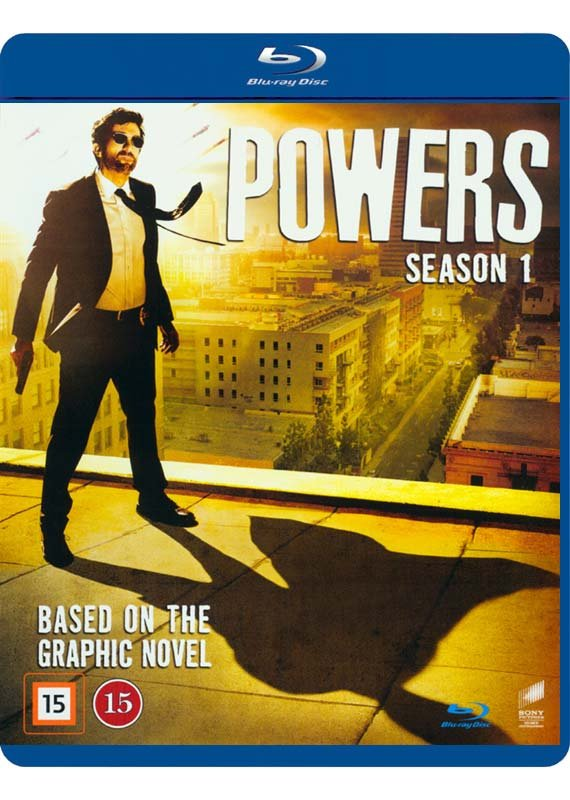 Image of   Powers - Sæson 1 - Blu-Ray - Tv-serie