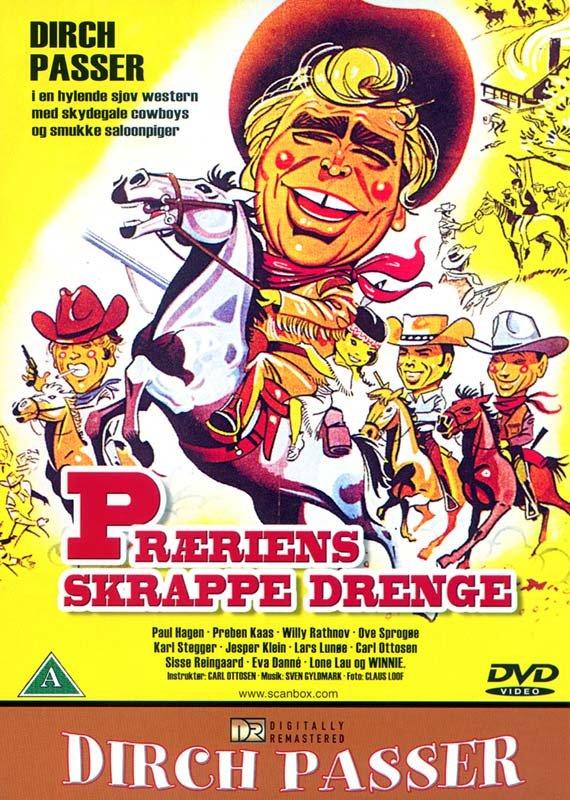 Præriens Skrappe Drenge - DVD - Film