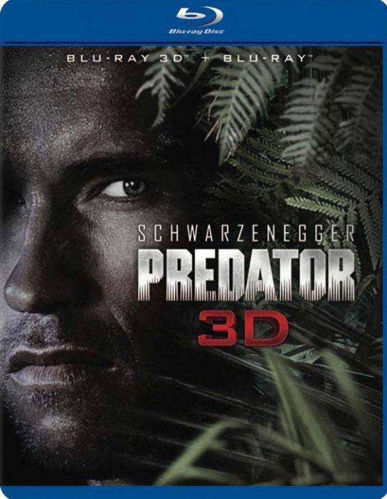 Image of   Predator 1: Jagten Er Begyndt - 3D Blu-Ray