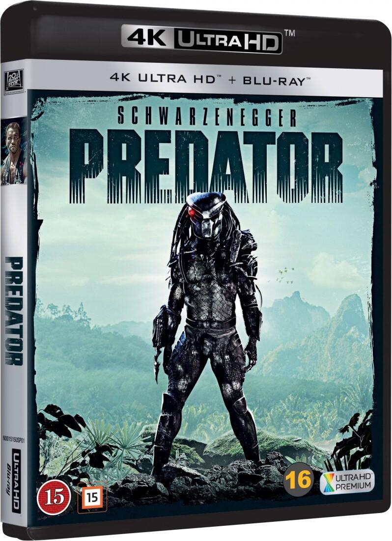 Image of   Predator - 4K Blu-Ray