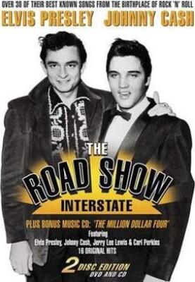 Presley & Cash: The Road Show Interstate + Cd - DVD - Film
